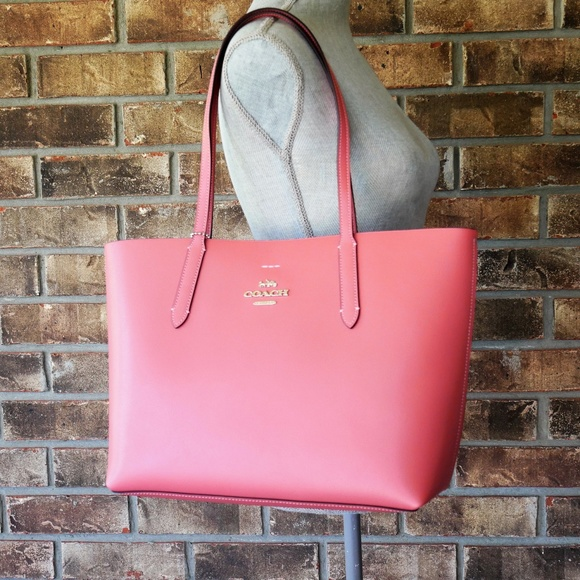 3aa6f0759f Coach Bags | Leather Avenue Tote F31535 Shoulder Bag New | Poshmark